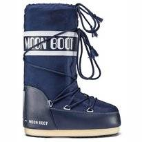 Moon Boot Snowboot Unisex Nylon Blau