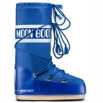 Schneestiefel Moon Boot Men Nylon Electric Blue