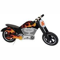 Loopfiets Kiddimoto Chopper Flames