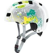 Fietshelm Uvex Kids 3 White Flower
