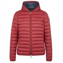 Jas Save The Duck Men D3065M GIGAY Ruby Red