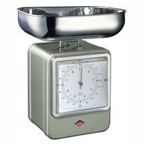 Kitchen Scales Wesco Retro New Silver