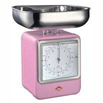 Kitchen Scales Wesco Retro Pink