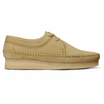 Clarks Weaver Maple Suede Men