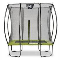 Trampoline Exit Toys Silhouette Rectangular 214 x 153 cm Lime