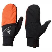 Handschoenen Odlo Gloves Intensity Cover Safety Light Black Orange Clown Fish