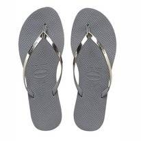 Tongs Havaianas You Metallic Steel Grey
