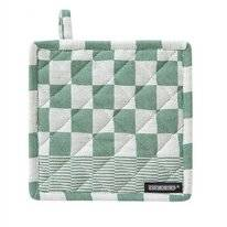 Pot Holder DDDDD Barbeque Green 21 x 21 cm (2 pc)
