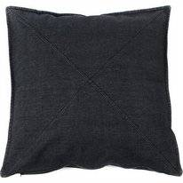 Zierkissen In The Mood Denim Cross Schwarz (50 x 50 cm)
