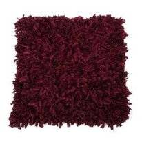 Zierkissen In The Mood Shaggy Maroon (50 x 50 cm)