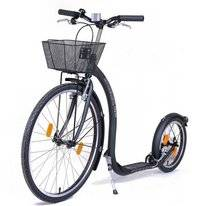 Step Kickbike City G4 Zwart