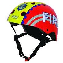 Kiddimoto Fire Red Helm