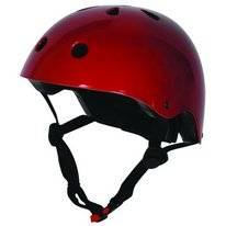 Kiddimoto Metallic Red Helm