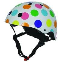 Kiddimoto Pastel Dotty Helm