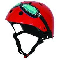 Fietshelm Kiddimoto Red Goggle