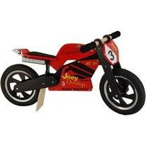 Loopfiets Kiddimoto Hero Superbike Joey Dunlop TT