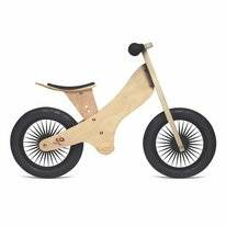 Loopfiets Kinderfeets Retro Naturel
