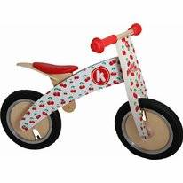 Loopfiets Kiddimoto Kurve Cherry