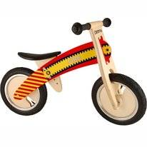 Loopfiets Kiddimoto Kurve Fire