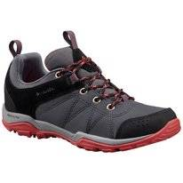 Wanderschuhe Columbia Fire Venture Textile Graphite Sunset Red Damen
