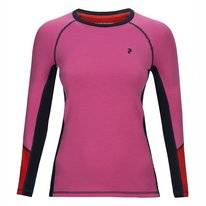 Long Sleeve Shirt Peak Performance Womens Blend Magic Vibrant Pink
