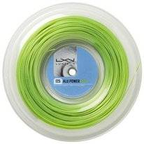 Tennissnaar Luxilon Alu Power Limegreen 1,25mm/200m