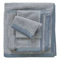 Serviette Invité Marc O'Polo Timeless Tone Stripe Smoke Blue Off White