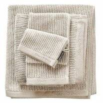 Serviette Invité Marc O'Polo Timeless Tone Stripe Oatmeal White