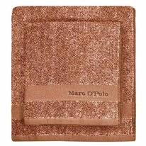 Serviette de Toilette Marc O'Polo Melange Burnt Orange Oatmeal
