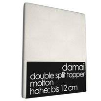 Double Split Topper Molton 12 cm Damai