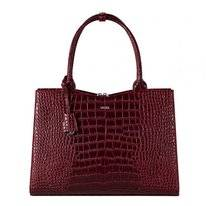 Laptoptas Socha Crocodile Burgundy