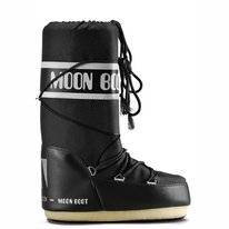 Moon Boot Unisex Nylon Black
