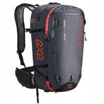 Skirucksack Ortovox Ascent 38 S Avabag Black Anthracite (Exklusive Airbag)