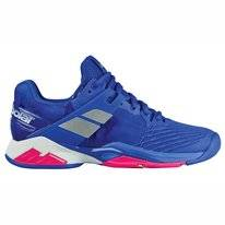 Tennis Shoes Babolat Propulse Fury All Court Women Princess Blue Fandango Pk