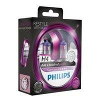 Autolampenset Philips ColorVision H4 Purple