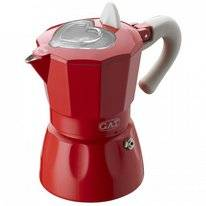 Percolator G.A.T. Rossana 3 Cups Red
