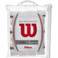 Overgrip Wilson Pro Perforated White (12-er Pack)
