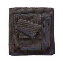 Serviette Invité Marc O'Polo Timeless Tone Stripe Marine Earth Brown
