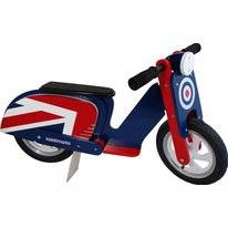 Loopfiets Kiddimoto Scooter Britpop