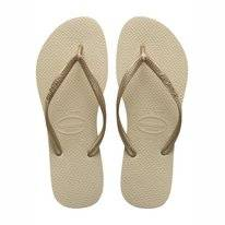 Tongs Havaianas Slim Sable Or