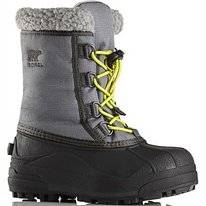 Bottes de Neige Sorel Childrens Cumberland City Grey Coal