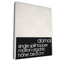 Single Split Topper Molton Damai 8 cm (Organic)