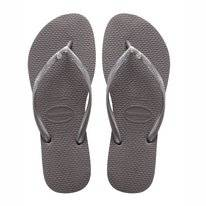 Slipper Dames Havaianas Slim Crystal Glamour Sw Steel Grey