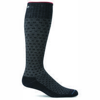 Compressiekousen Sockwell Men Shadow Box Black