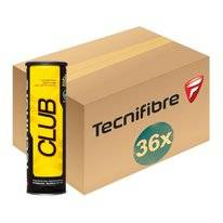 Tennis Balls Tecnifibre CTN Club 4-Tin (Box 36x4)