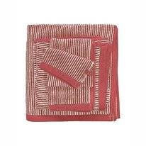 Serviette Invité Marc O'Polo Timeless Tone Stripe Deep Rose
