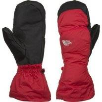 Handschoenen The North Face Nuptse Mitt Red/Black