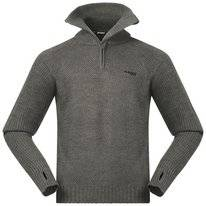 Sweatshirt Bergans Men Ulriken Jumper Green Mud Mel