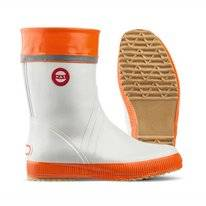 Gummistiefel Nokian Hai White Orange