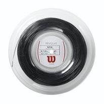 Tennissnaar Wilson Revolve Spin 16 Reel Black 1.35mm/200m